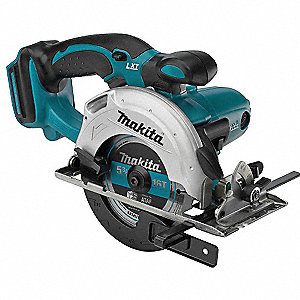 "5-3/8"" Cordless Circular Saw, 18.0 Voltage, 3600 No Load RPM, Bare Tool"