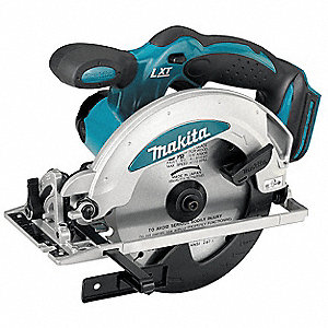 "6-1/2"" Cordless Circular Saw, 18.0 Voltage, 3700 No Load RPM, Bare Tool"