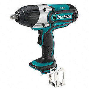 "1/2"" Cordless Impact Wrench, 18.0 Voltage, 325 ft.-lb. Max. Torque, Bare Tool"