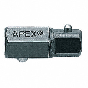 "Socket Adapter,16mm Male Hex,3/8"" Square"