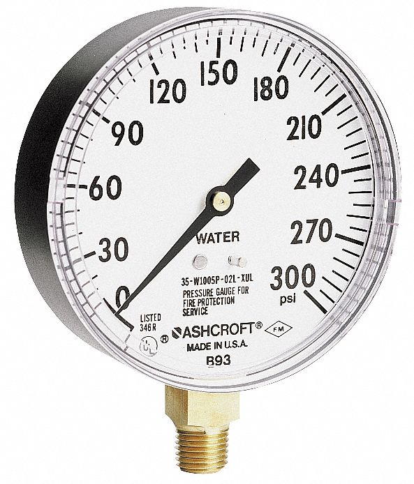 3s Base Aluminum Door Pressure Gauges 2 way 2 Faucets High Low Refrigeration New