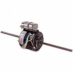 1/10 HP Room Air Conditioner Motor,Permanent Split Capacitor,1550 Nameplate RPM,115 Voltage,Frame No