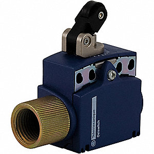 General Purpose Limit Switch, 240VAC/DC Voltage Rating, 10 Amps, Top Actuator Location