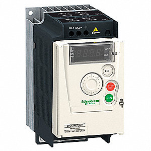 Variable Frequency Drive,1/4 Max. HP,1 Input Phase AC,120VAC Input Voltage