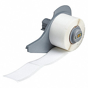 "White, 100 Labels per Roll  2-1/2"" H x 1"" W, 1 EA"