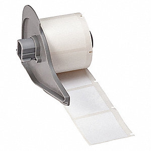 "White, 250 Labels per Roll  1-1/2"" H x 1-1/2"" W, 1 EA"