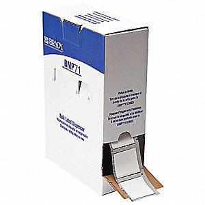 "White, 500 Labels per Roll  1-21/32"" H x 1-3/4"" W, 1 EA"