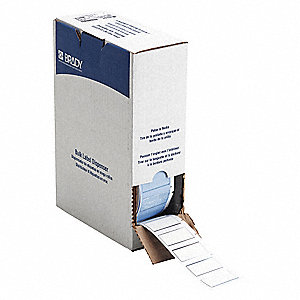 "White, 1000 Labels per Roll  27/32"" H x 1-49/64"" W, 1 EA"