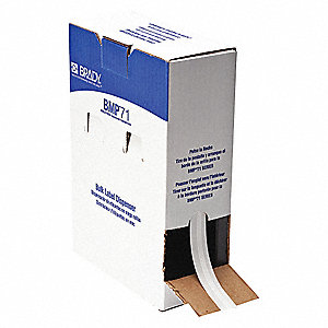 Label Cartridge,White,Vinyl Cloth