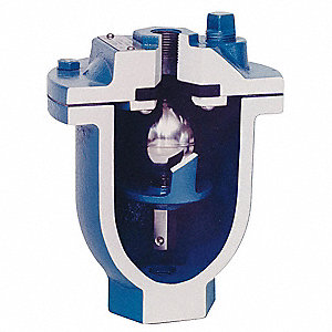 "300 psi Clean Water Air Vacuum Valve, 2"" Inlet Size, 2"" Outlet Size"