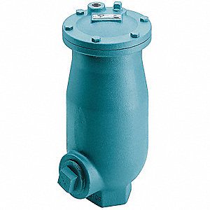 "150 psi Waste Water Air Release Valve, 4"" Inlet Size, 1/2"" Outlet Size"