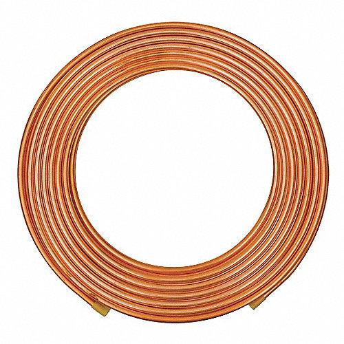 Mueller industries tuber a de cobre acr 1 8 pulg 100 pies - Precio tuberia cobre ...