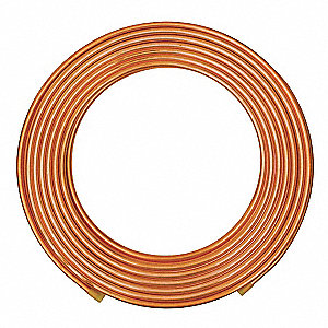 "60 ft. Soft Coil Type K Copper Tubing, 5/8"" Outside Dia., 0.527"" Inside Dia."