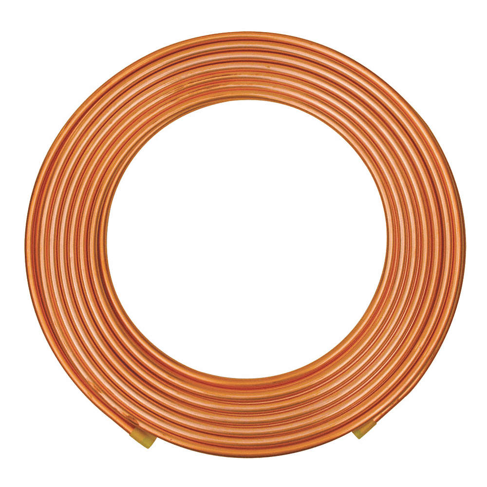 MHUI Copper Round Tube Refrigeration Tubing Hollow Smooth Soft Coil T2 Bright Copper Material Garden Products Outer Diameter 1m//3.3feet,0.04inch//1mm 5mm//0.2inch Length