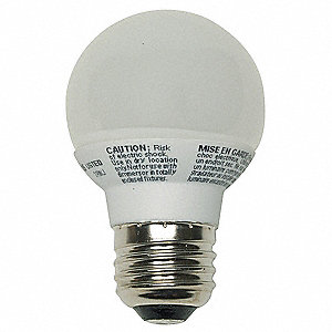 LED Light Bulb,G16.5,3000K,Warm
