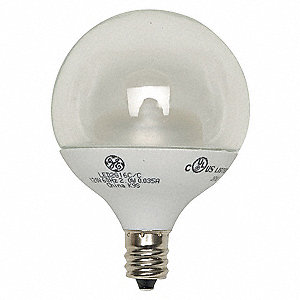 4.5 Watts Clear G16-1/2 LED Lamp, 270 Lumens