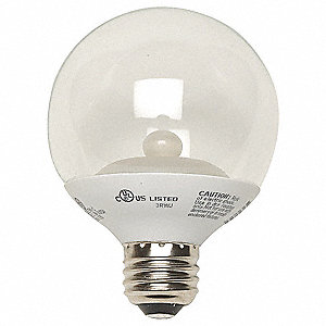 4.5 Watts Clear G25 LED Lamp, 280 Lumens