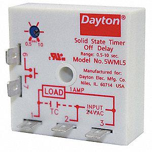dayton single function encapsulated timing relay 24vac. Black Bedroom Furniture Sets. Home Design Ideas