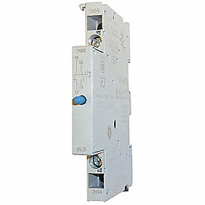 Short Circuit Alarm, 4 Amps, DPST Type, Side Mounting