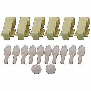 ABS Similar Material Push Bar Repair Kit, For Various Elkay and Halsey Taylor Water Coolers