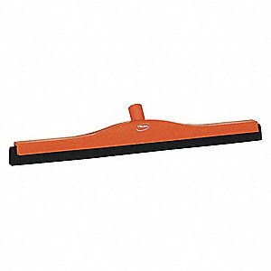 "Floor Squeegee,Straight Double,24"" W"