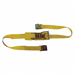 Tie Down Strap,Ratchet,Poly,9 ft.