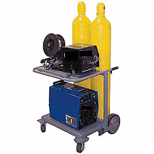 Inverter Cart,Holds 2 Cylinder