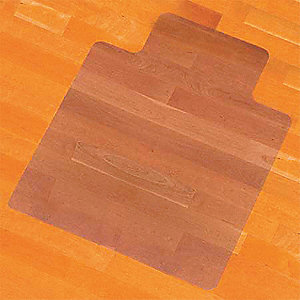 CHAIR MAT,CLEAR, 45 X 53 IN.