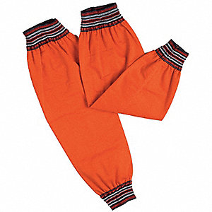 "21-1/2""L Flame-Retardant Treated Cotton Sleeve, Orange"