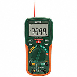 EXTECH (R) EX230 Compact - Basic Features Digital Multimeter, -4° to 1400°F Temp. Range