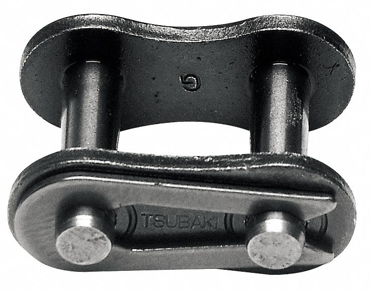 TSUBAKI 50CUCL Connecting Link,50,Curved Riveted,PK5