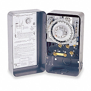 Defrost Timer Control, 208/240VAC Voltage, Defrost Time (Minutes): 4 to 110, 2 min. Increments