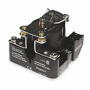 24VAC, 4-Pin Surface Open Power Relay; Electrical Connection: Screw