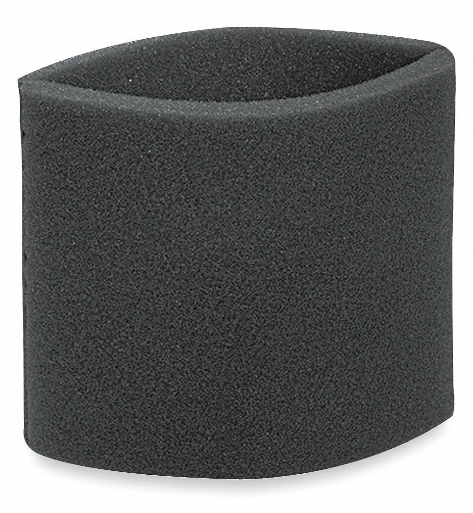 Sleeve Filter,  Foam,  Standard Filtration Type