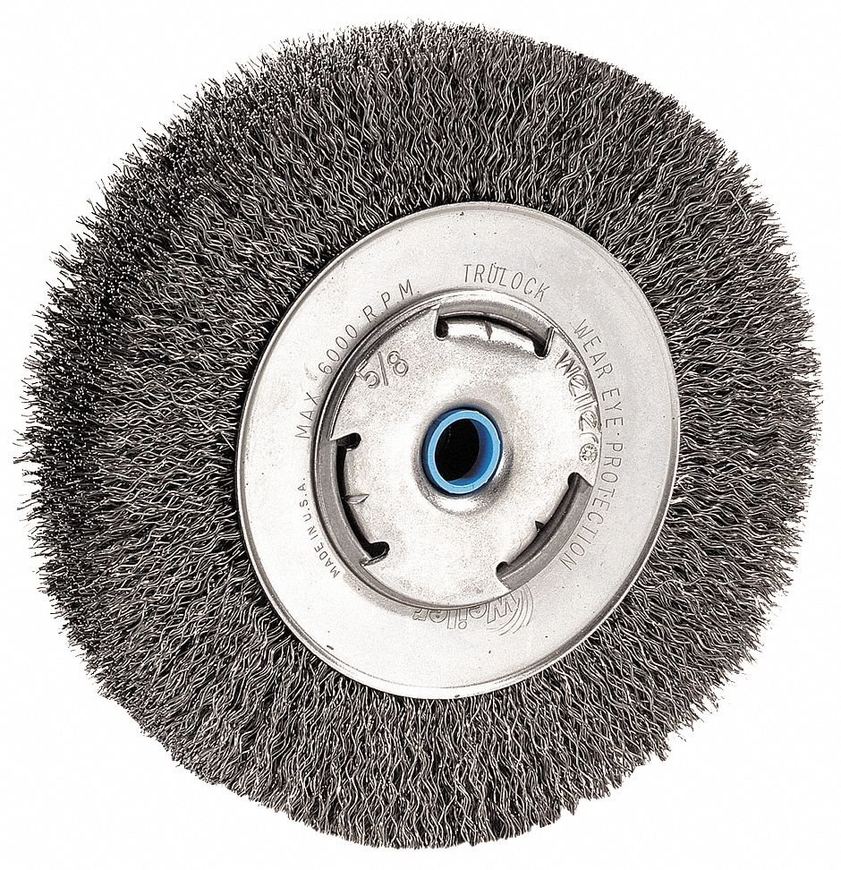 Miraculous Dewalt 10 Crimped Wire Wheel Brush Arbor Hole Mounting Gmtry Best Dining Table And Chair Ideas Images Gmtryco