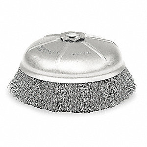 CRIMPED CUP BRUSH,4 IN