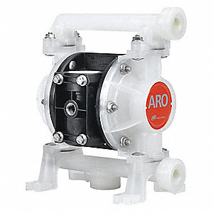 "Double Diaphragm Pump,3/8"",10.6 gpm"