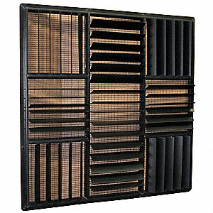 "Louver Kit, Plastic, 48"",For Use With 48"" Port-A-Cool Models"
