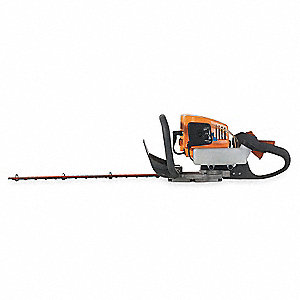 "Hedge Trimmer, Double-Sided Blade Type, 22"" Bar Length, 2 Cycle Engine"