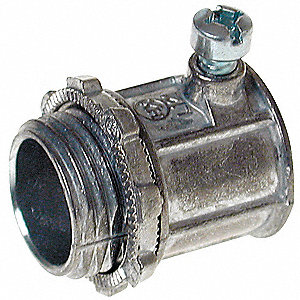 Connector,Setscrew,Non-Insulated,3/4 In