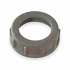 "Insulated Bushing, Plastic, 3/4"" Conduit Size"