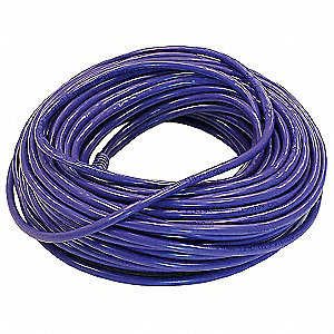 Purple Ethernet Cable, Connector Type: RJ45 - 8P8C, Boot Type:  Booted, 75 ft. Length