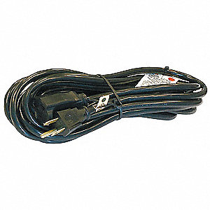 15 ft. Indoor 125V Extension Cord, 13 Max. Amps, Black