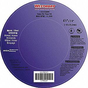 FLAP DISC,4-1/2IN,60,COARSE