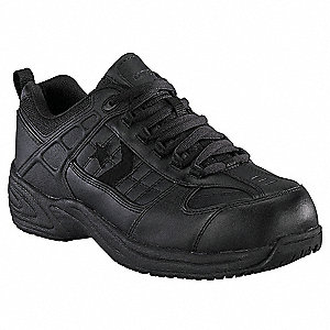 Athletic Style Work Shoes, Size 10, Toe Type: Steel, PR