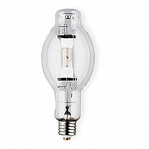 400 Watts Metal Halide HID Lamp, BT28, Mogul Screw (E39), 37,000 Lumens, 4200K Bulb Color Temp.