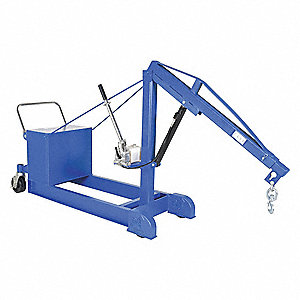 Mobile Floor Crane,CounterBalance,1000Lb