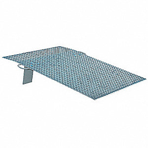 "Dock Plate, 500 lb. Load Capacity, 36"" Overall Width, 36"" Overall Length"
