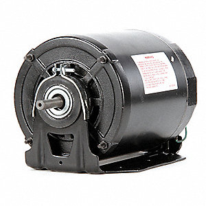 1/3, 1/9 HP Direct Drive Blower Motor, Split-Phase, 1725/1140 Nameplate RPM, 115 Voltage, Frame 56Z