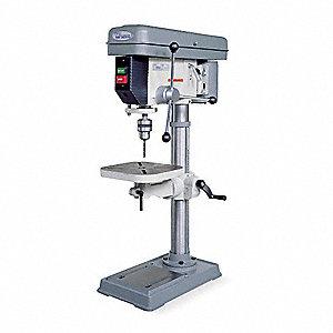 Wilton 3 4 Motor Hp Bench Drill Press Belt Drive Type 15 Swing